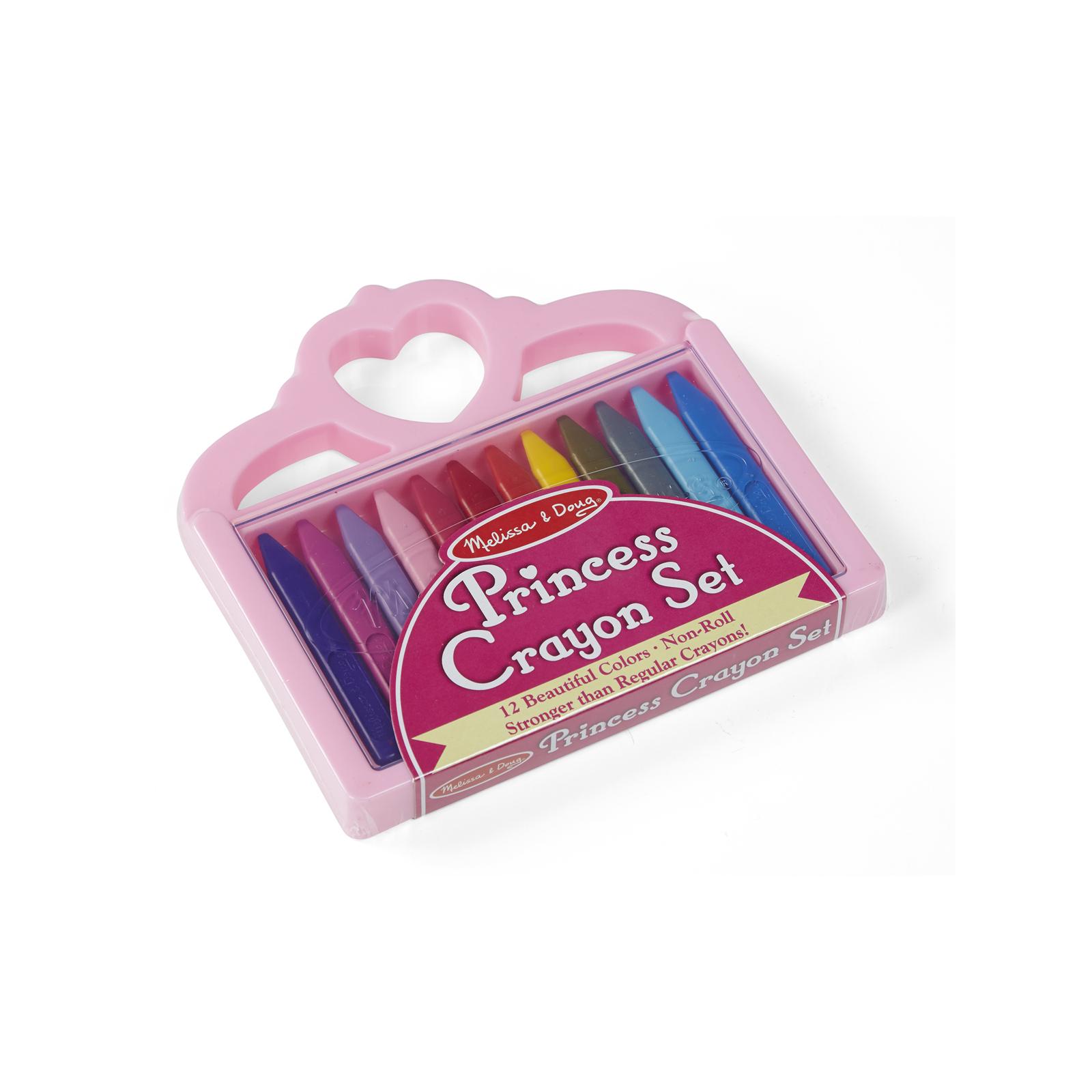 Набор для творчества Melissa&Doug Мелки полимерные Принцесса 12 цветов (MD4155) изображение 2