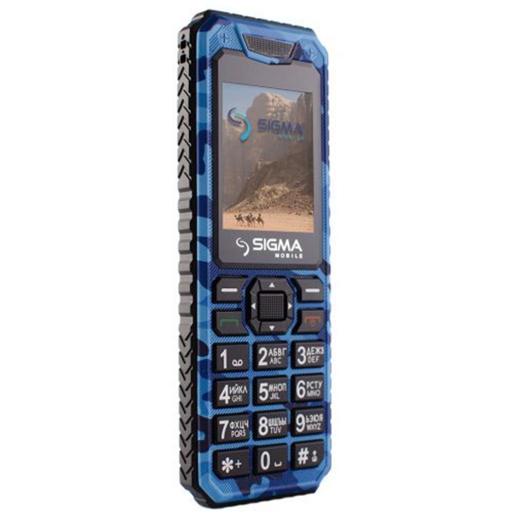 Мобильный телефон Sigma X-style 11 Dual Sim Blue Camouflage (4827798327227) изображение 4