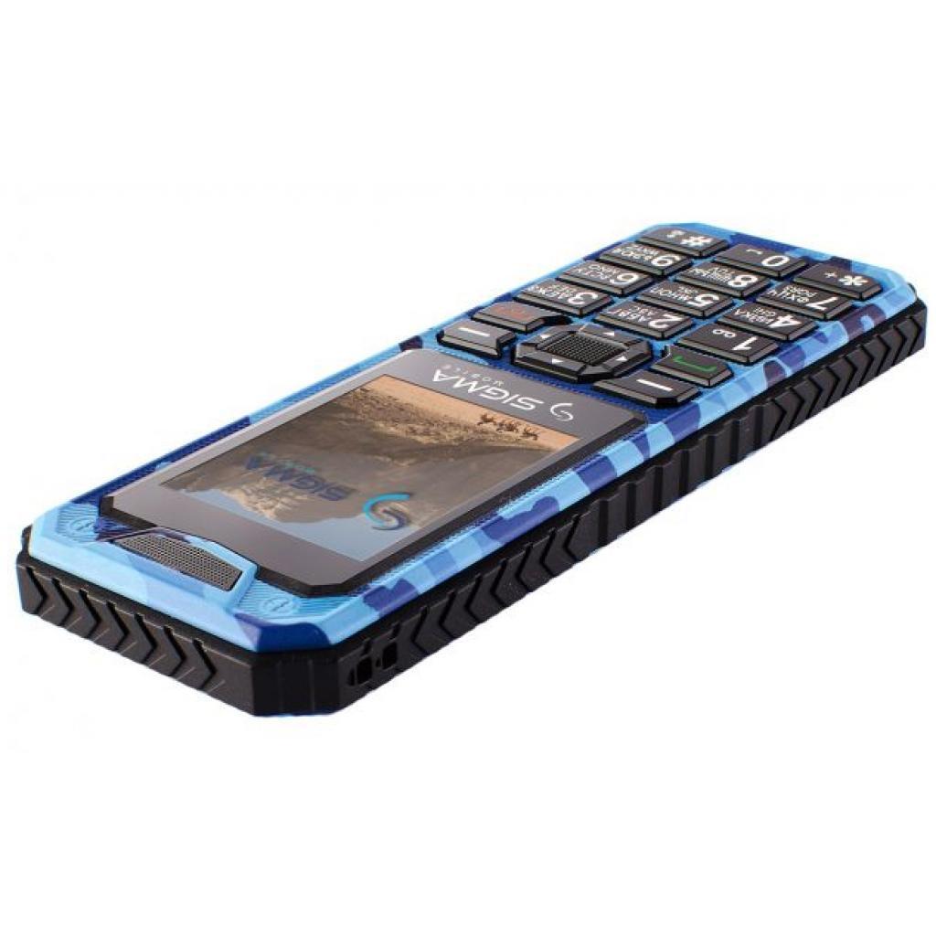 Мобильный телефон Sigma X-style 11 Dual Sim Blue Camouflage (4827798327227) изображение 5