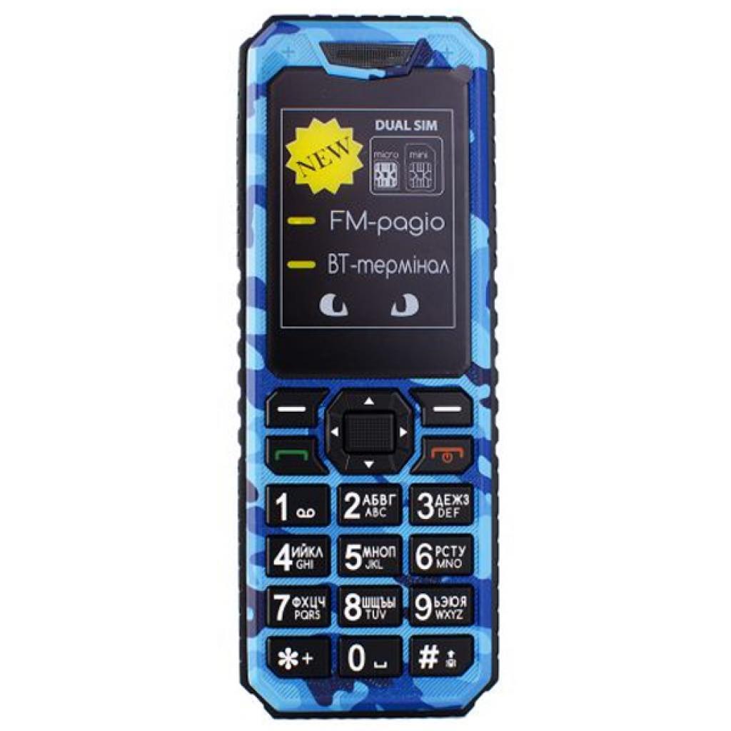 Мобильный телефон Sigma X-style 11 Dual Sim Blue Camouflage (4827798327227)