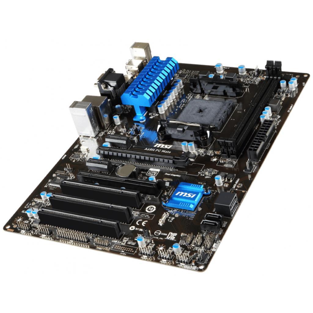 Материнская плата MSI A68H PC MATE изображение 4