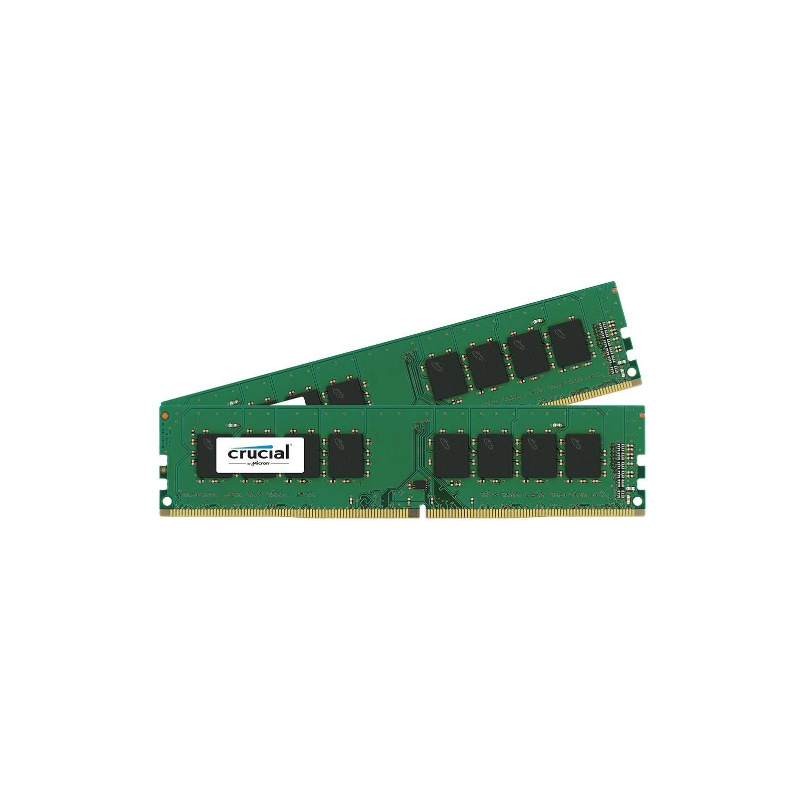 Модуль памяти для компьютера DDR4 16GB (2x8GB) 2133 MHz Micron (CT2K8G4DFS8213)