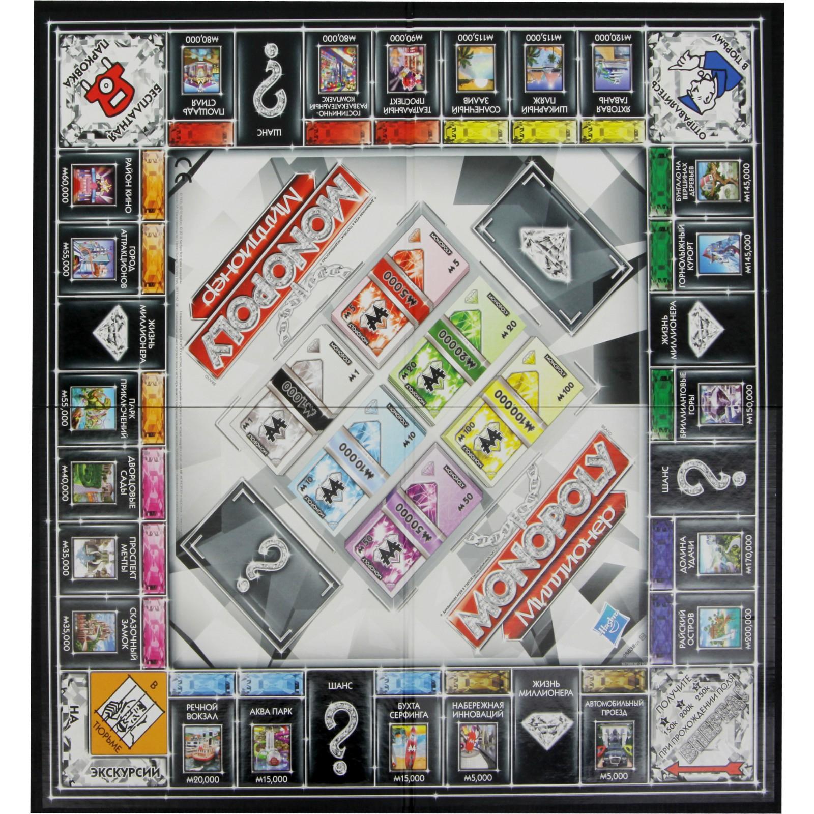Настольная игра Hasbro Монополия Миллионер руский язык (98838) изображение 2