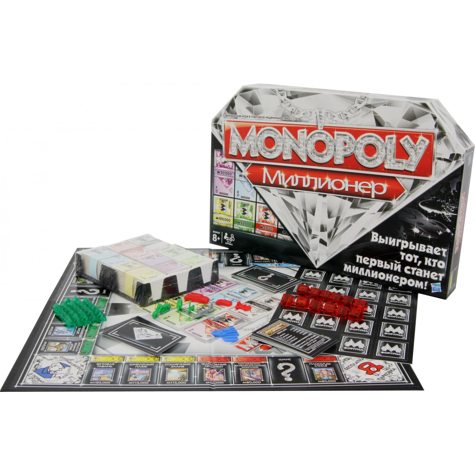 Настольная игра Hasbro Монополия Миллионер руский язык (98838) изображение 3