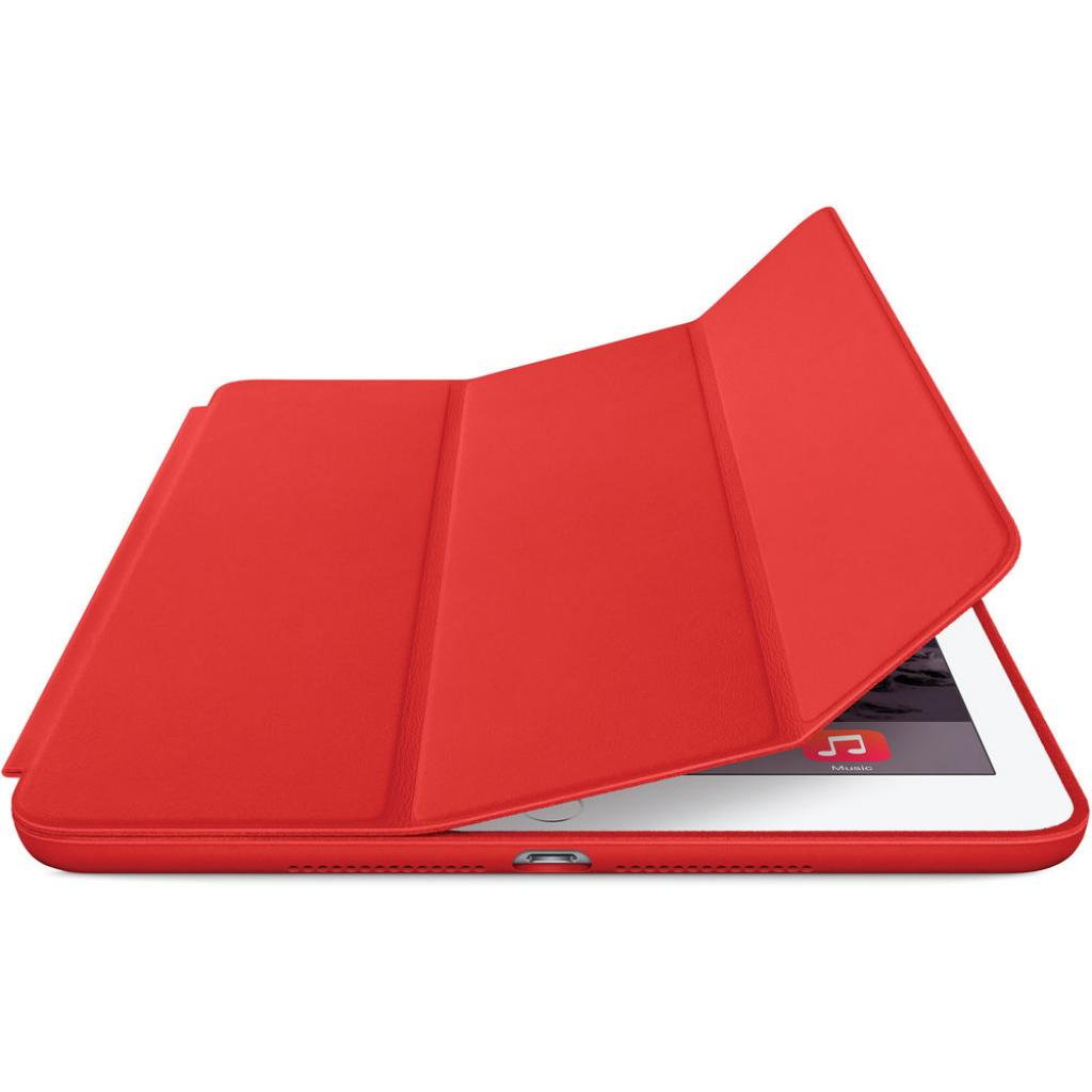 Чехол для планшета Apple Smart Case для iPad Air 2 (bright red) (MGTW2ZM/A) изображение 2
