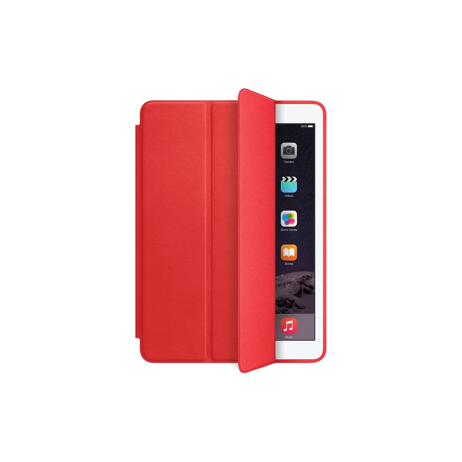 Чехол для планшета Apple Smart Case для iPad Air 2 (bright red) (MGTW2ZM/A) изображение 3