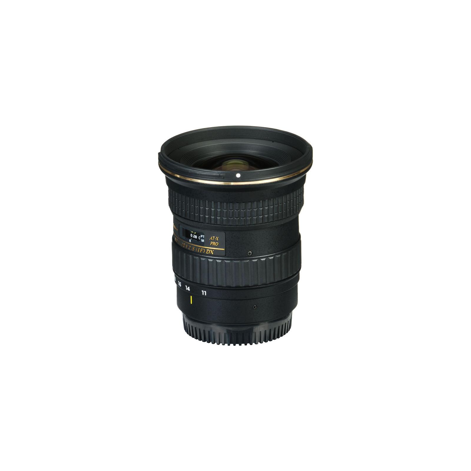 Объектив Tokina AT-X PRO DX 11-20mm f/2.8 (Nikon) (ATXAF120DXN) изображение 4