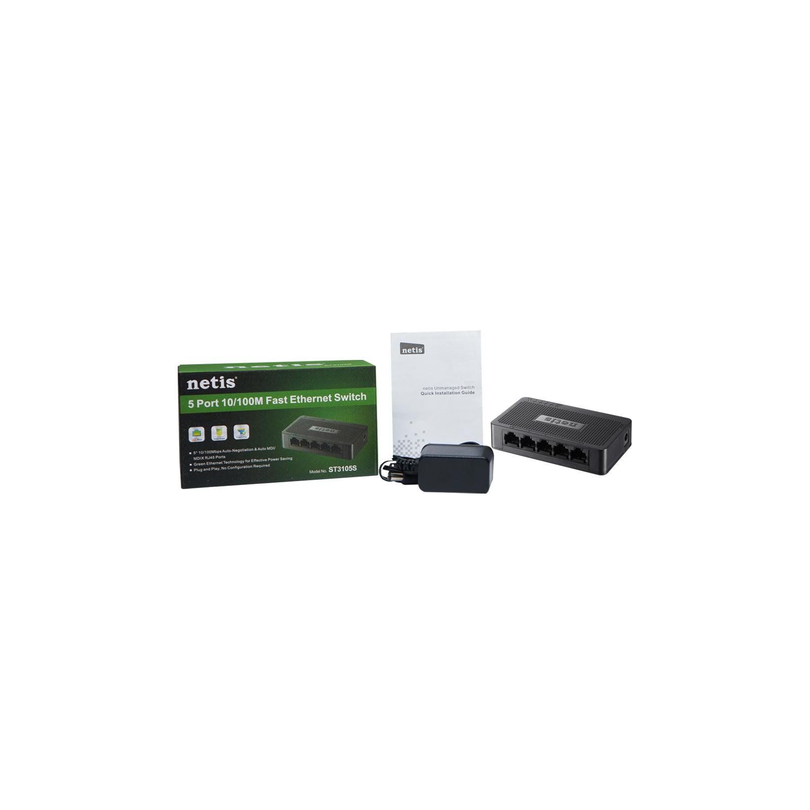 Коммутатор сетевой Netis ST3105S изображение 5