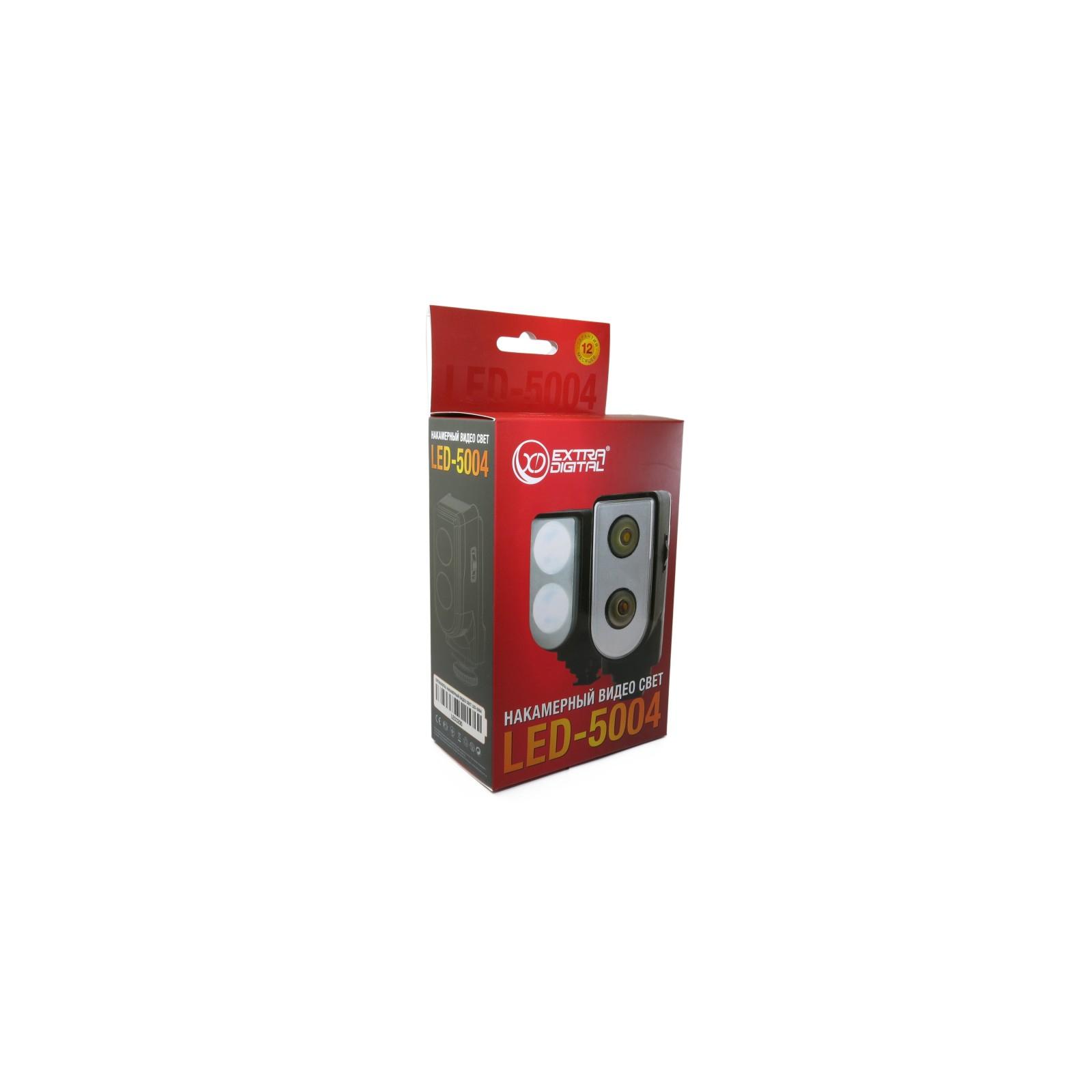 Вспышка EXTRADIGITAL Накамерный свет LED-5004 (LED3200) изображение 6