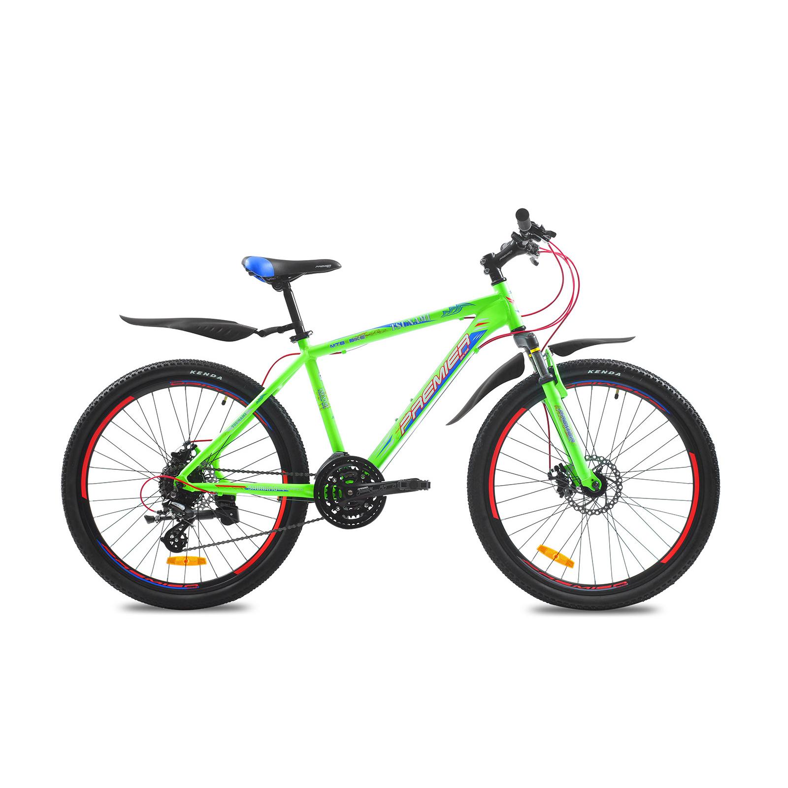 "Велосипед Premier Tsunami 26 Disc 17"" matt neon green (SP0001482)"