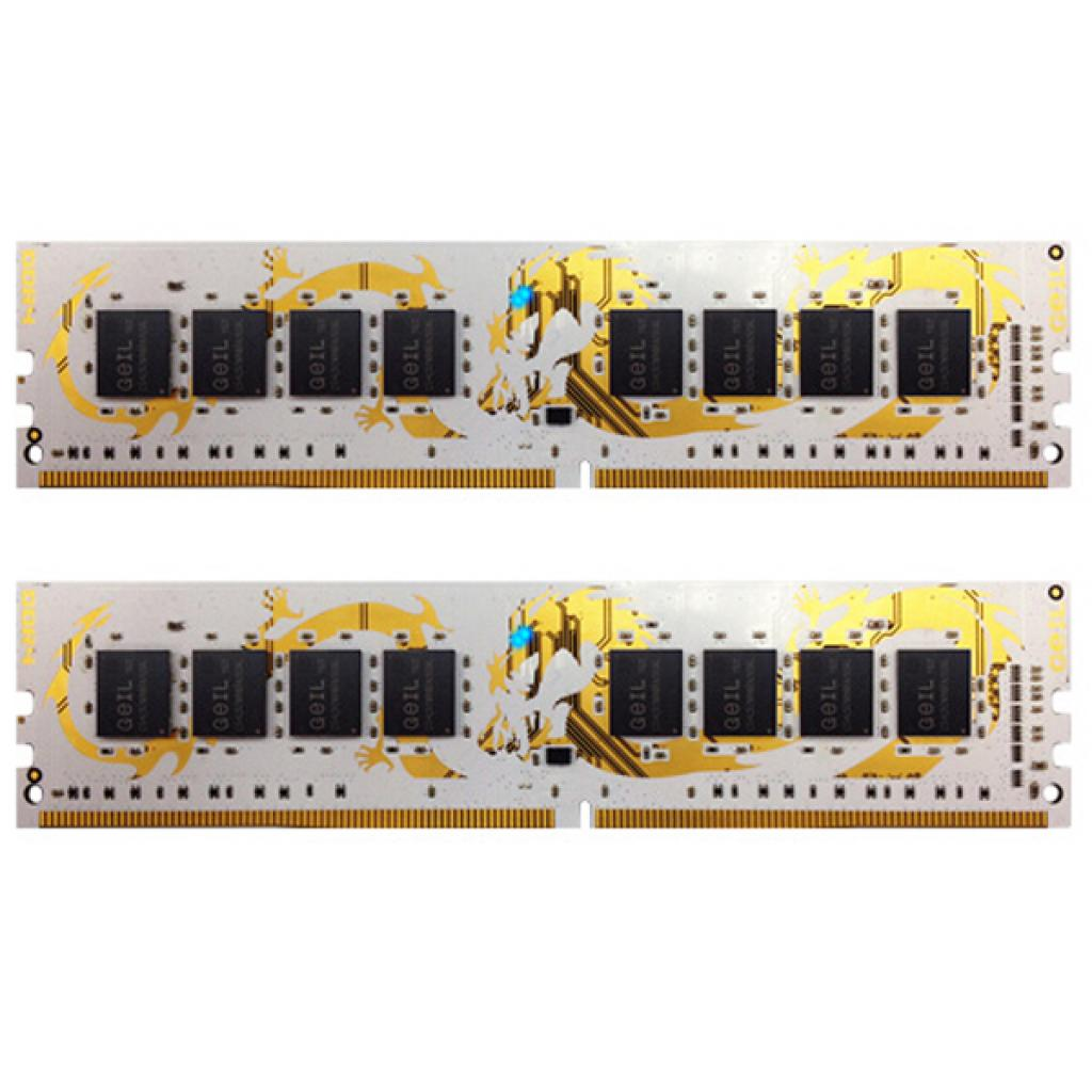 Модуль памяти для компьютера DDR4 8GB (2x4GB) 2666 MHz GEIL (GLWB48GB2666C15DC)