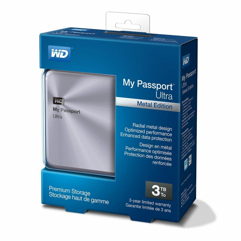 """Внешний жесткий диск 2.5"""" 3TB Western Digital (WDBEZW0030BSL-EESN) изображение 4"""