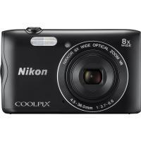 Цифровой фотоаппарат Nikon Coolpix A300 Black+8GB+case (VNA961K003)