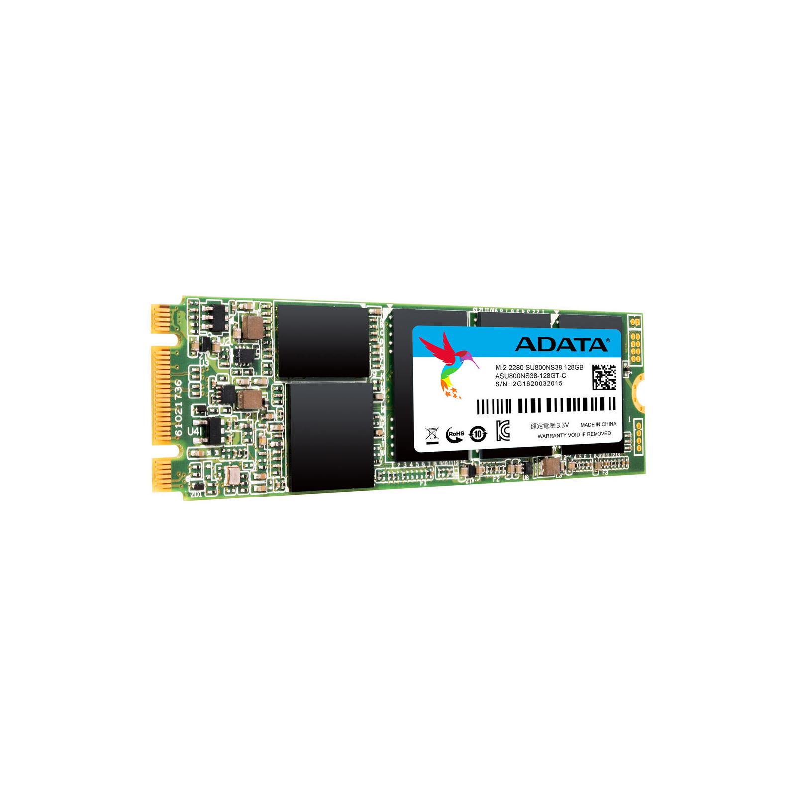 Накопитель SSD M.2 2280 1TB ADATA (ASU800NS38-1TT-C) изображение 2