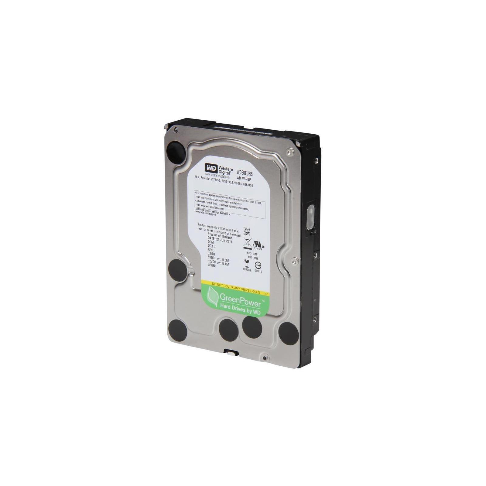 """Жесткий диск 3.5"""" 3TB WD (#WD30EURS-FR#) изображение 3"""