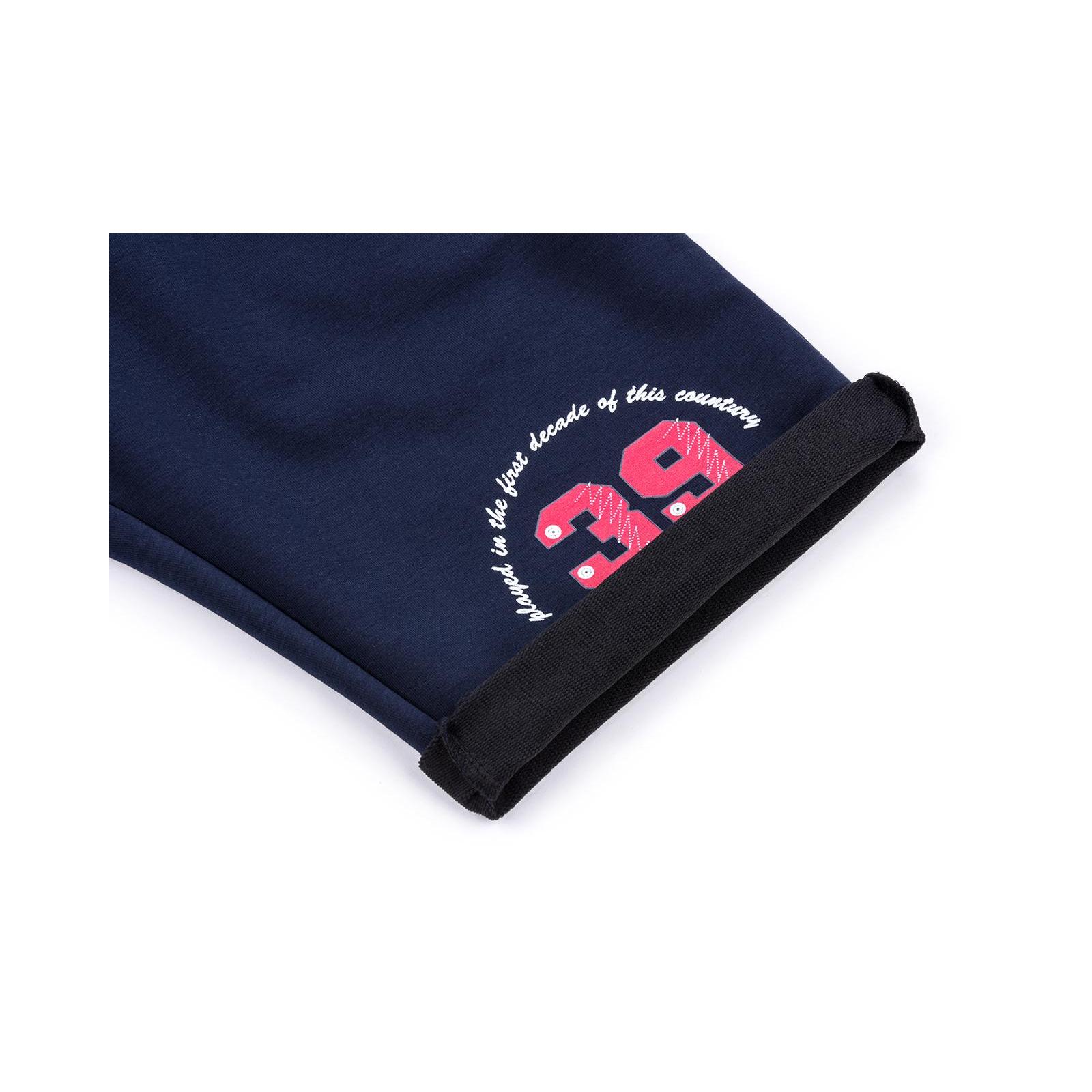 Шорты Breeze трикотажные с карманами (10755-164B-blue) изображение 4