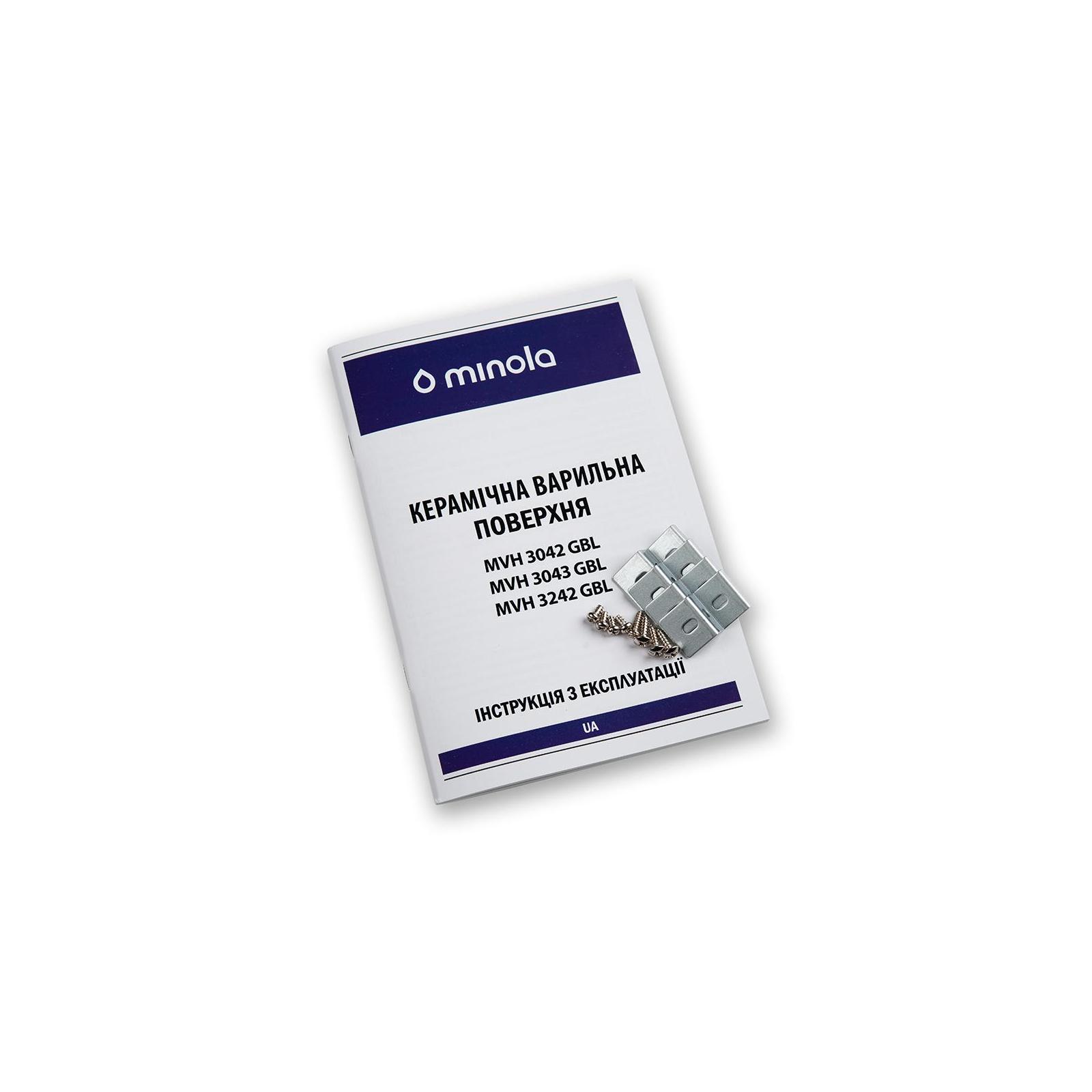Варочная поверхность MINOLA MVH 3042 GBL изображение 8