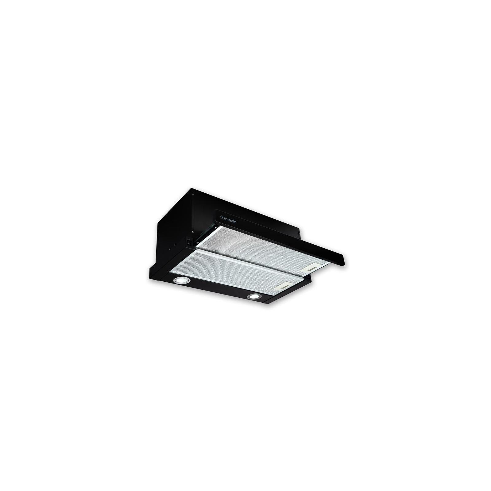 Вытяжка кухонная MINOLA HTL 6612 BL 1000 LED изображение 2