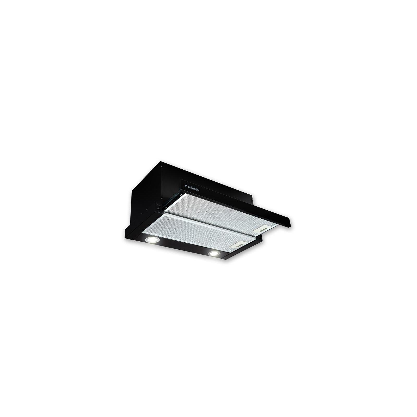 Вытяжка кухонная MINOLA HTL 6612 BL 1000 LED изображение 4