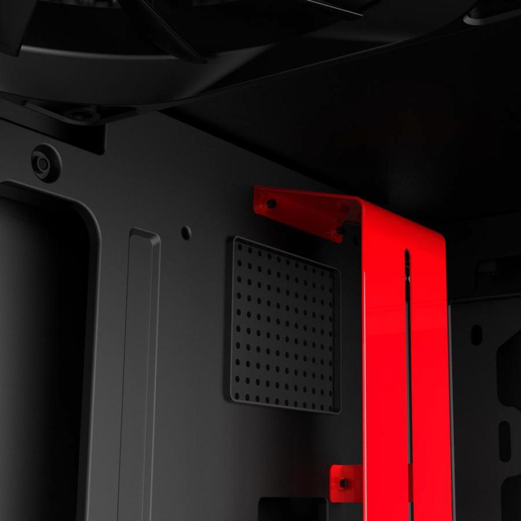 Корпус NZXT H500i Smart Black Red (CA-H500W-BR) изображение 11