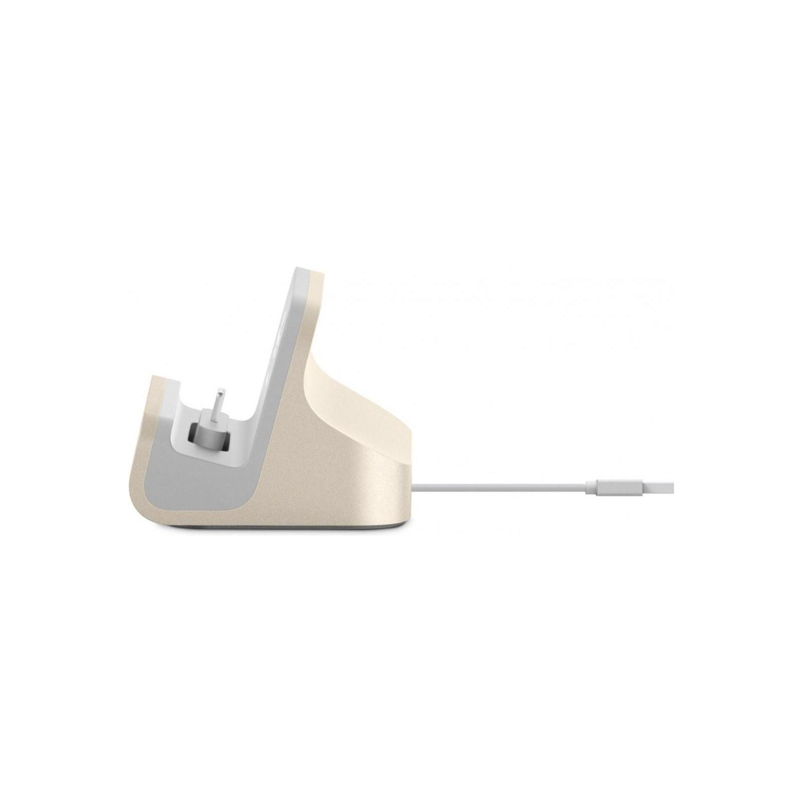Док-станция Belkin Charge+Sync MIXIT iPhone 6s/SE Dock, Gold (F8J045btGLD) изображение 2