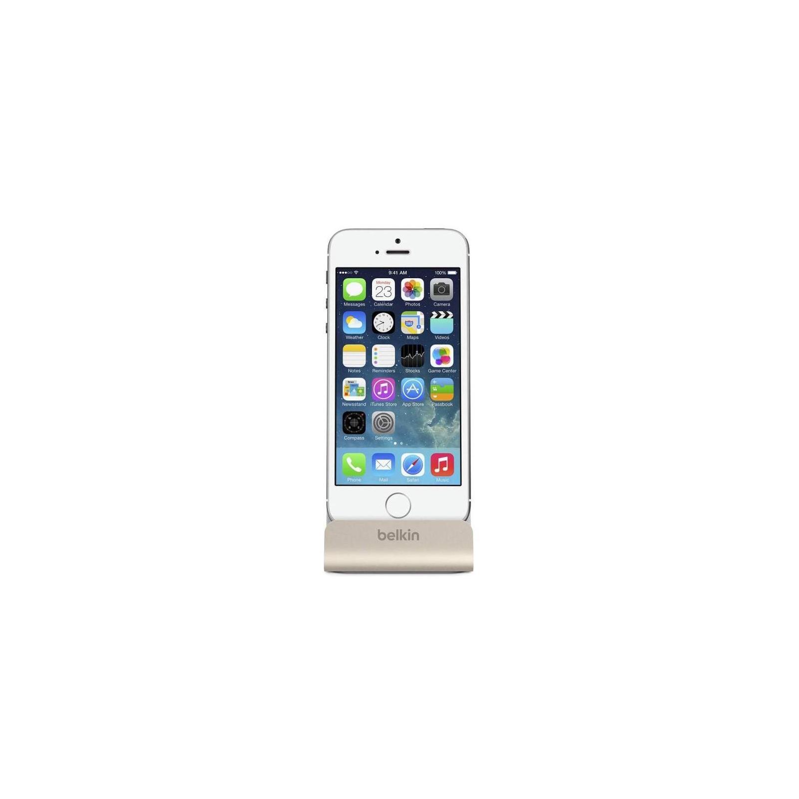 Док-станция Belkin Charge+Sync MIXIT iPhone 6s/SE Dock, Gold (F8J045btGLD) изображение 3