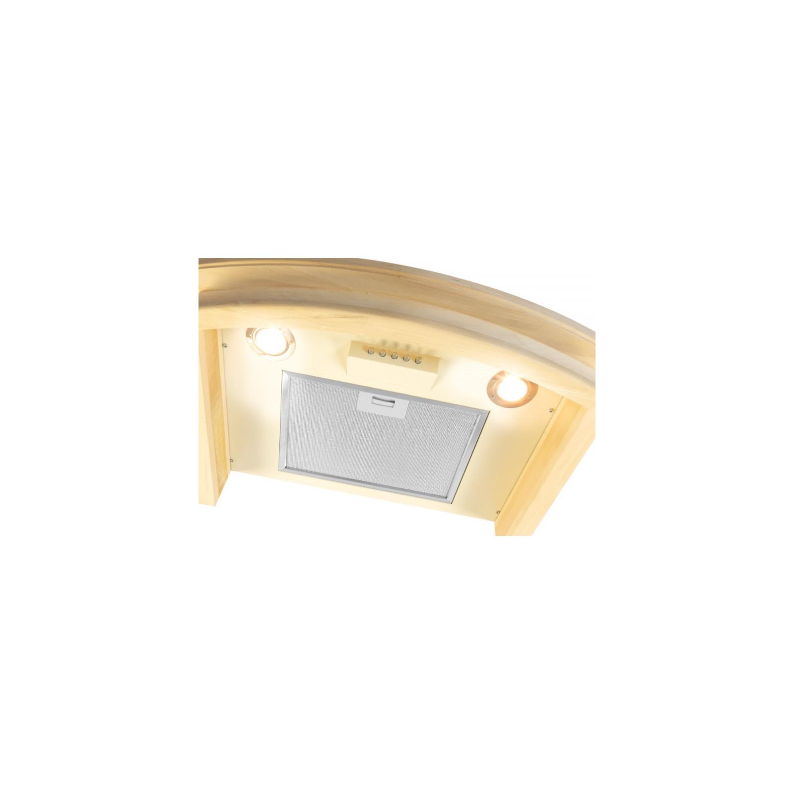 Вытяжка кухонная VENTOLUX VICENZA 60 CREMA (1000) PB IT изображение 4