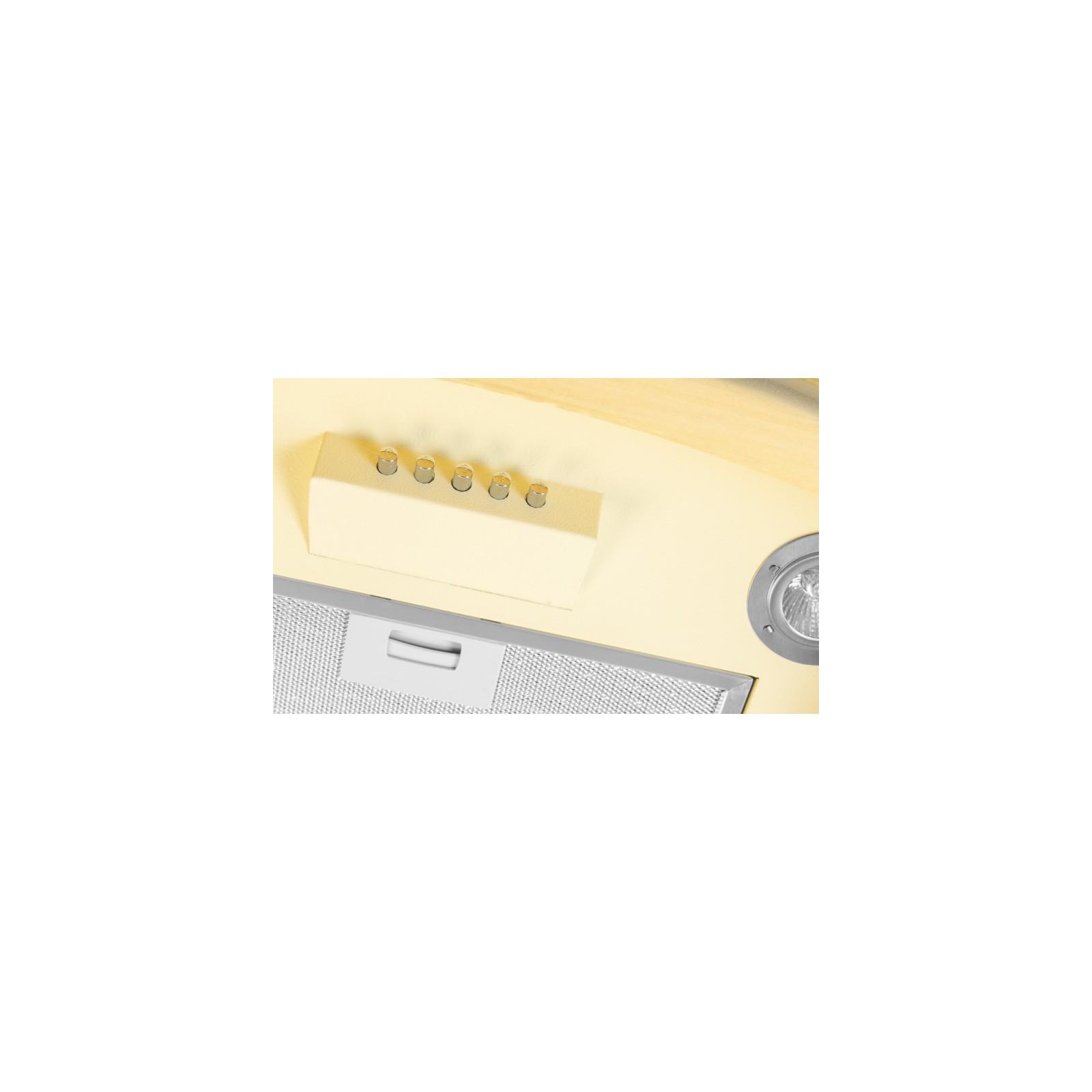 Вытяжка кухонная VENTOLUX VICENZA 60 CREMA (1000) PB IT изображение 5