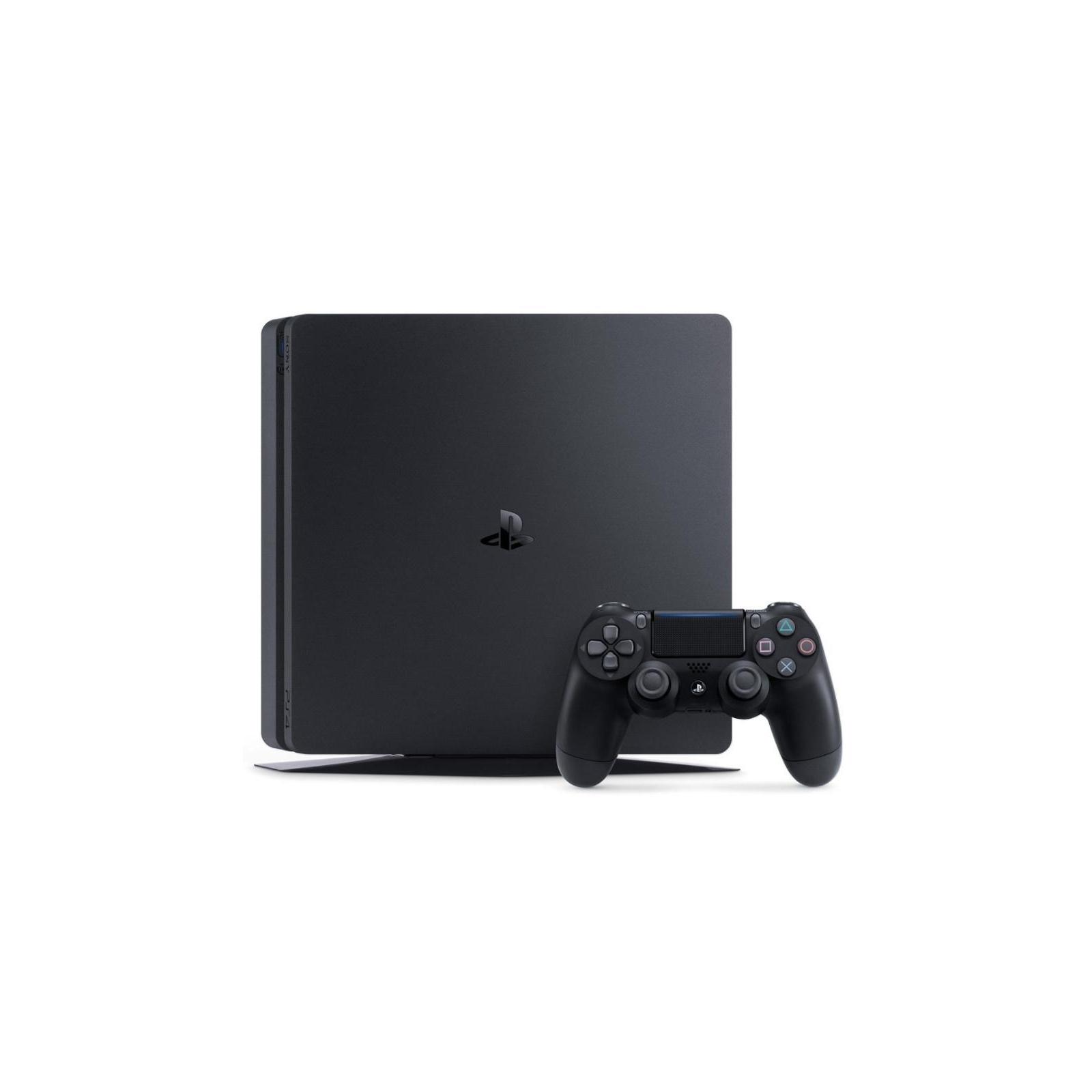 Игровая консоль SONY PlayStation 4 Slim 500 Gb Black (HZD+GTS+UC4+PSPlus 3М) (9779117) изображение 2