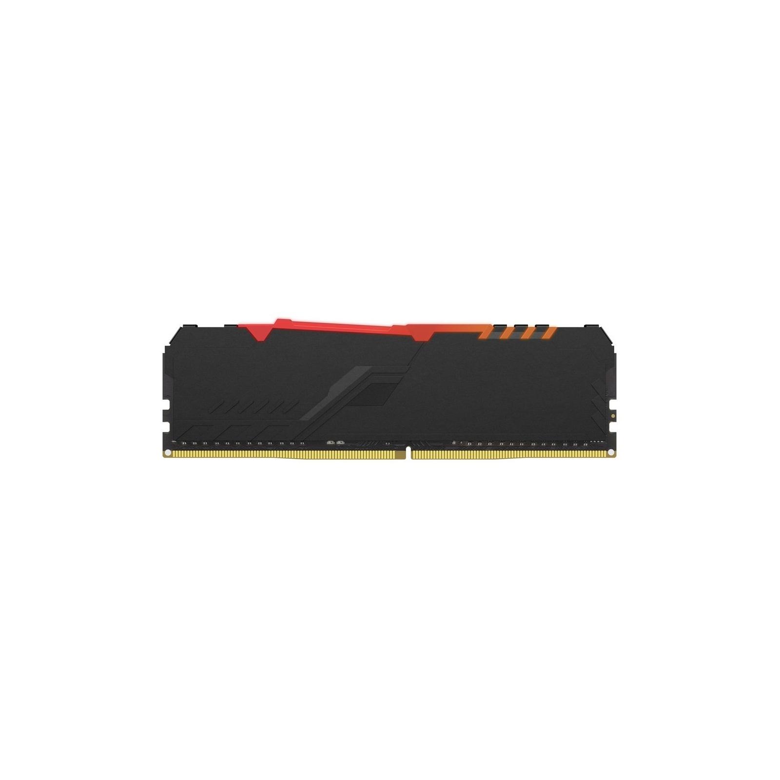 Модуль пам'яті для комп'ютера DDR4 16GB 2666 MHz HyperX FURY RGB Kingston (HX426C16FB3A/16) зображення 2