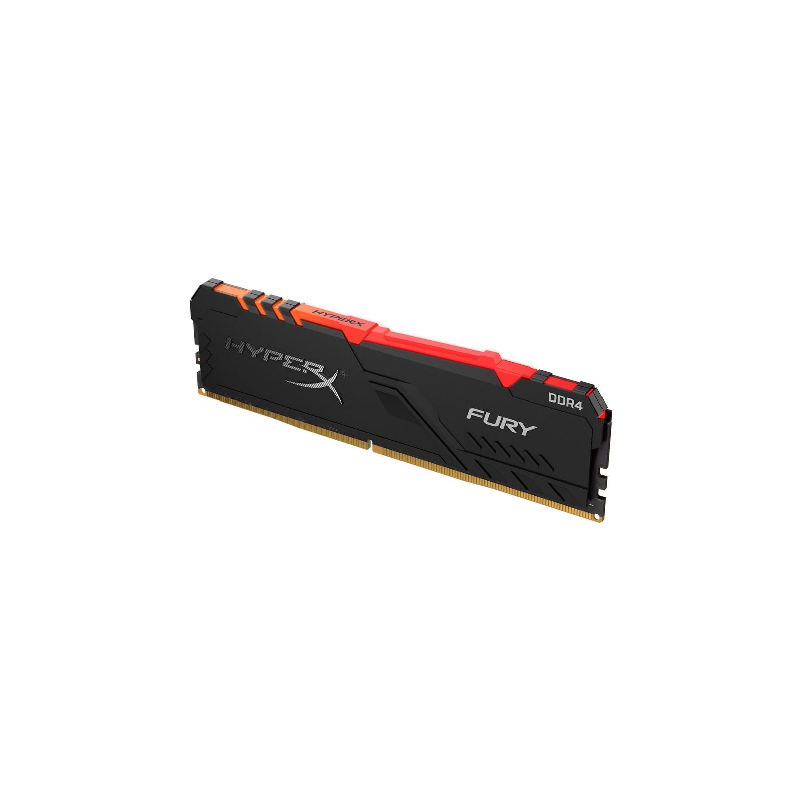 Модуль пам'яті для комп'ютера DDR4 16GB 2666 MHz HyperX FURY RGB Kingston (HX426C16FB3A/16) зображення 3