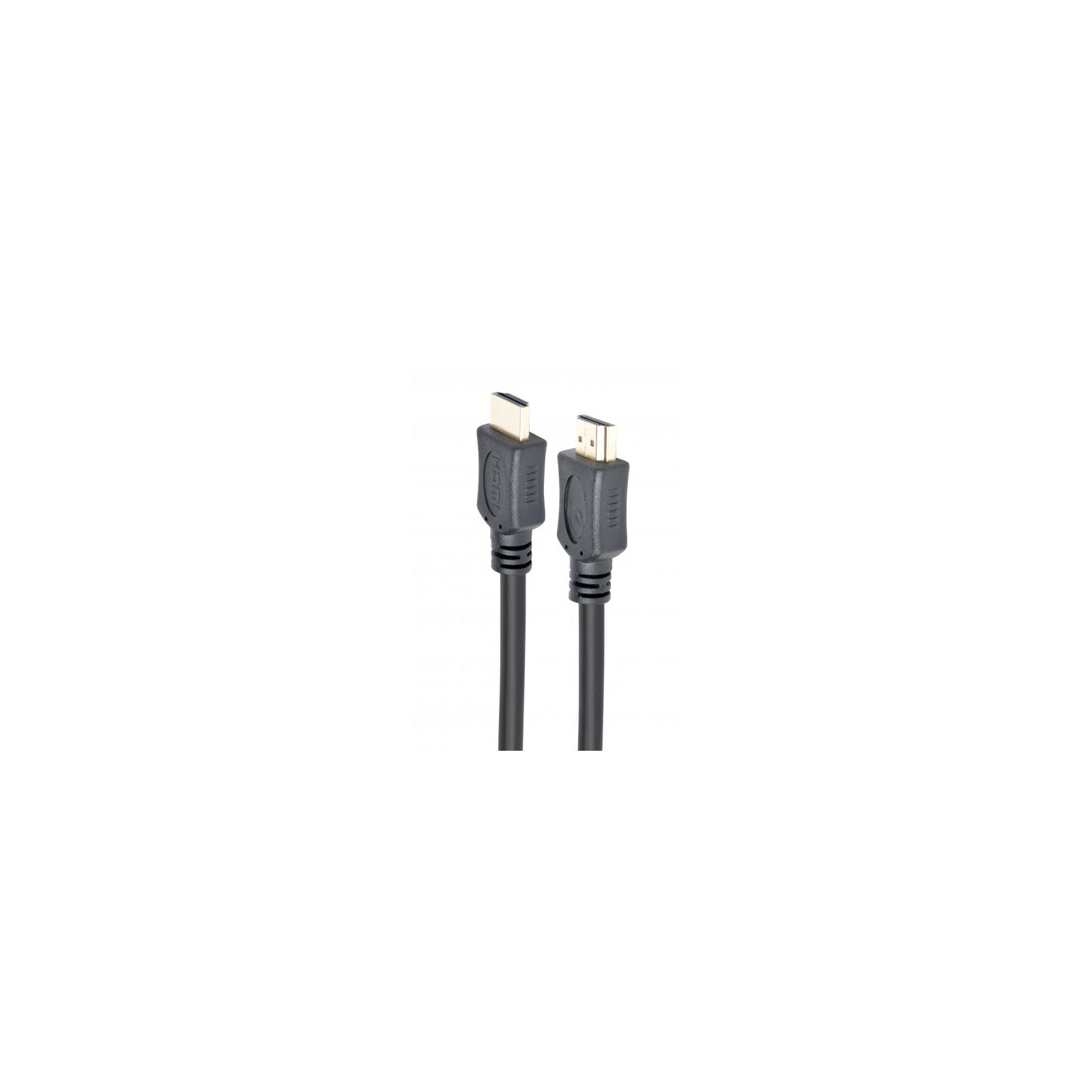 Кабель мультимедийный HDMI to HDMI 0.5m V.1.4 Cablexpert (CC-HDMI4L-0.5M) изображение 2