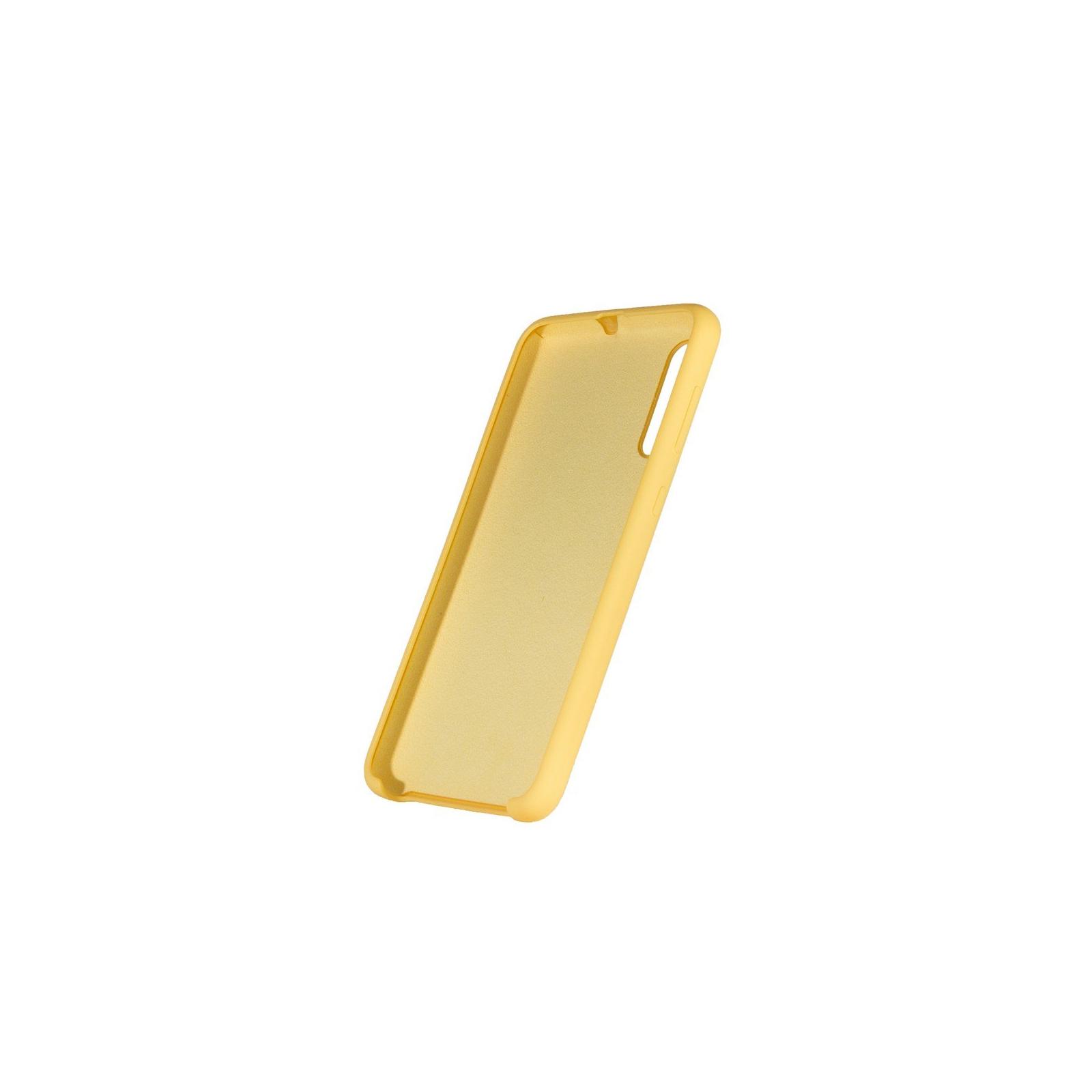 Чехол для моб. телефона ColorWay ColorWay Liquid Silicone для Samsung Galaxy A50 Yellow (CW-CLSSGA505-YL) изображение 4