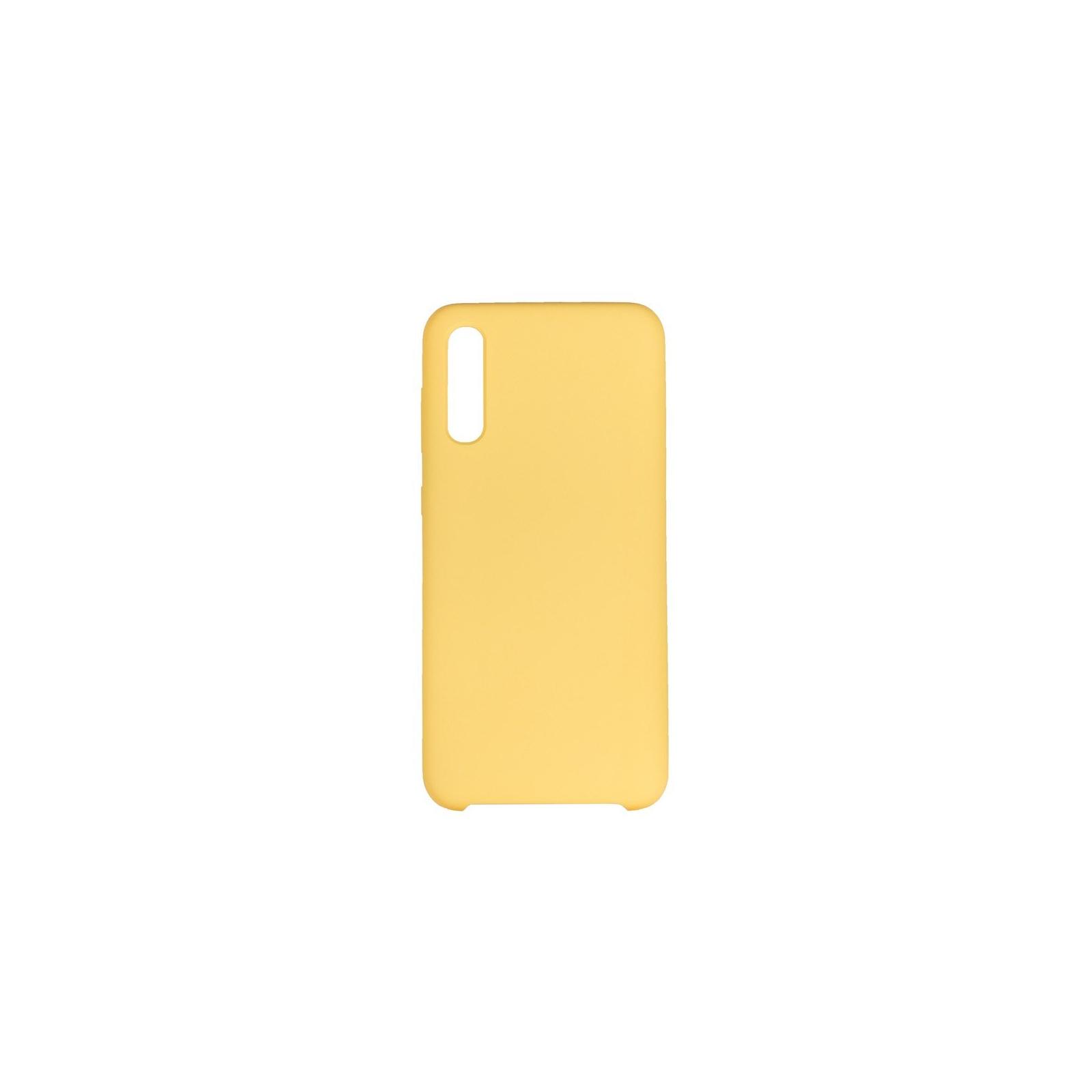 Чехол для моб. телефона ColorWay ColorWay Liquid Silicone для Samsung Galaxy A50 Yellow (CW-CLSSGA505-YL)
