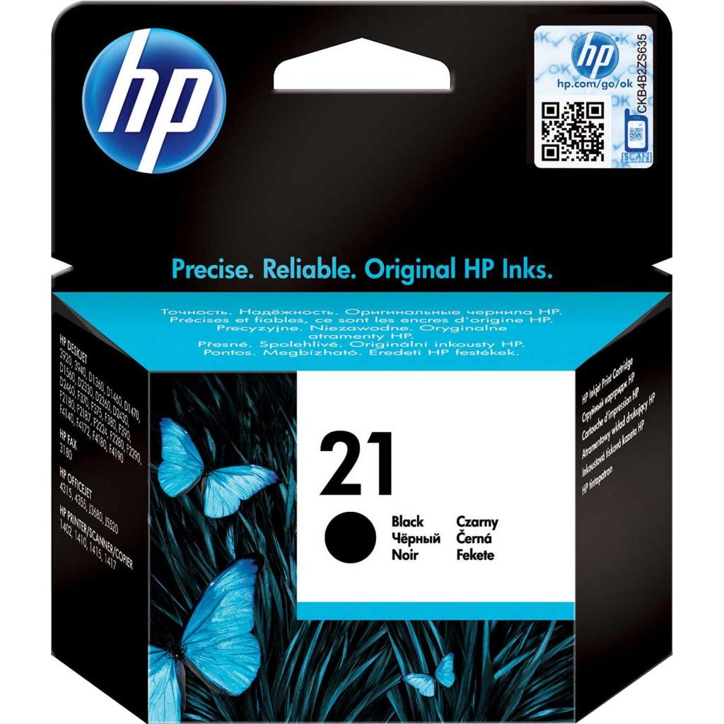 Картридж HP DJ No. 21 Black (C9351AE)
