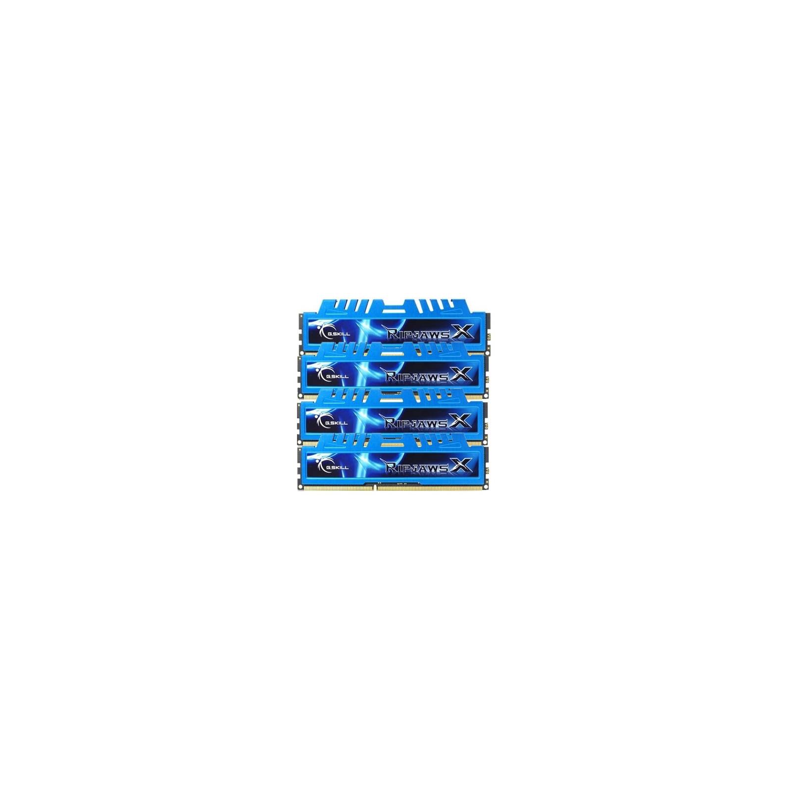 Модуль памяти для компьютера DDR3 16GB (4x4GB) 2133 MHz G.Skill (F3-17000CL9Q-16GBXM) изображение 2