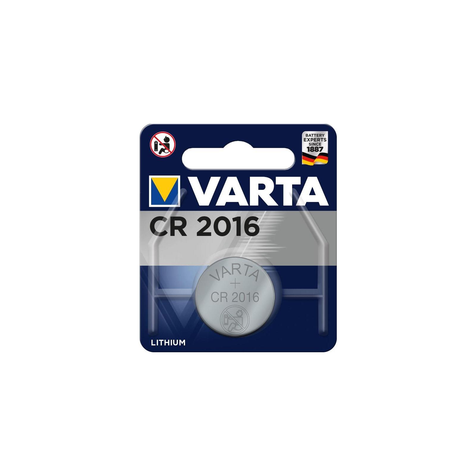 Батарейка Varta CR2016 Lithium (06016101401)
