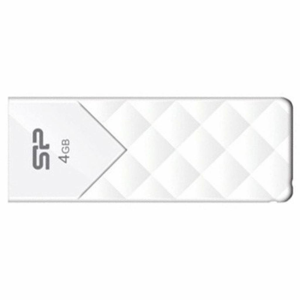 USB флеш накопитель Silicon Power 4Gb Ultima U03 White (SP004GBUF2U03V1W)