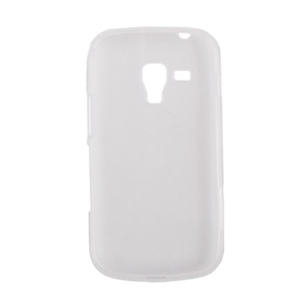 Чехол для моб. телефона Drobak для Samsung S7562 Galaxy S Duos/ElasticPU/WhiteClear (216039) изображение 2
