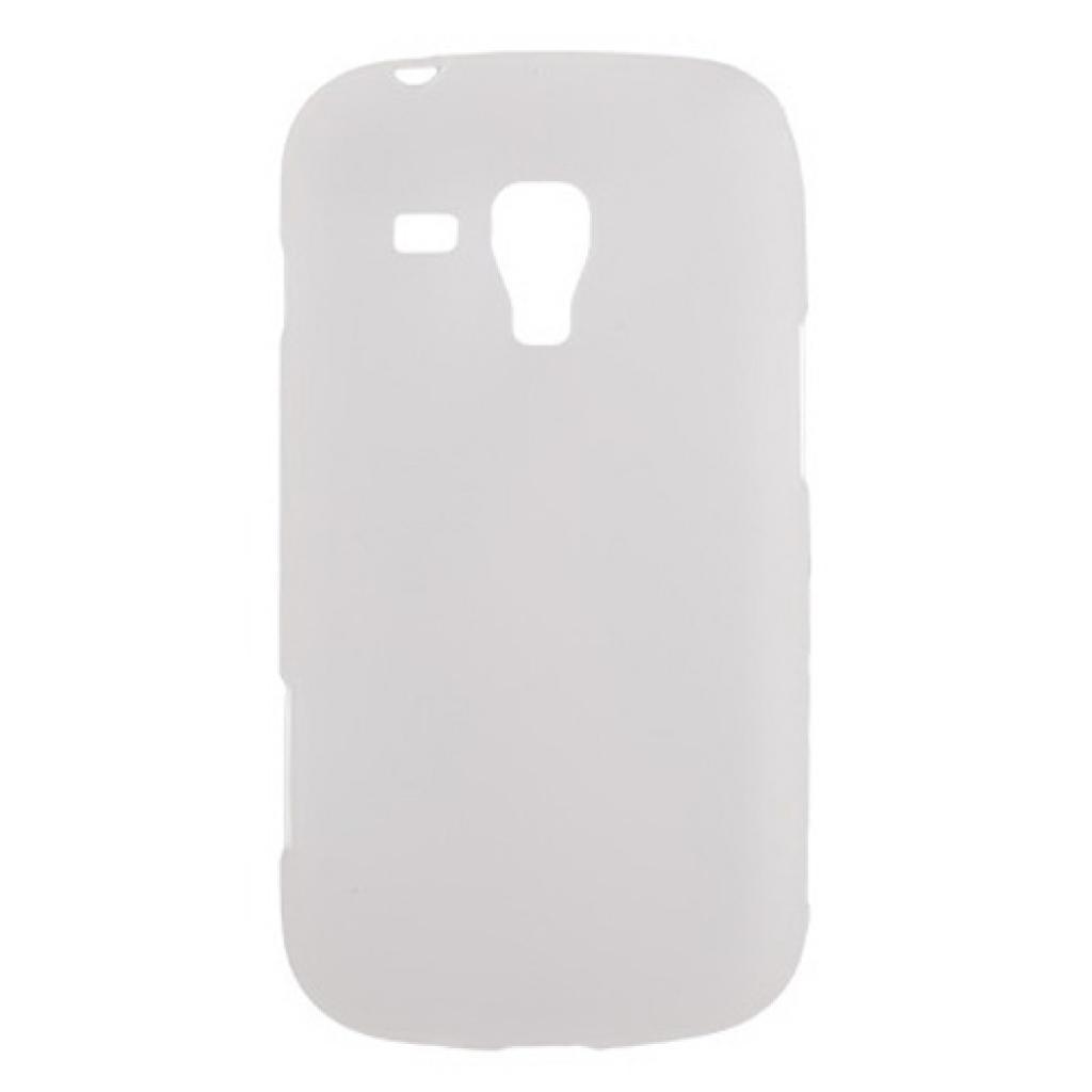 Чехол для моб. телефона Drobak для Samsung S7562 Galaxy S Duos/ElasticPU/WhiteClear (216039)