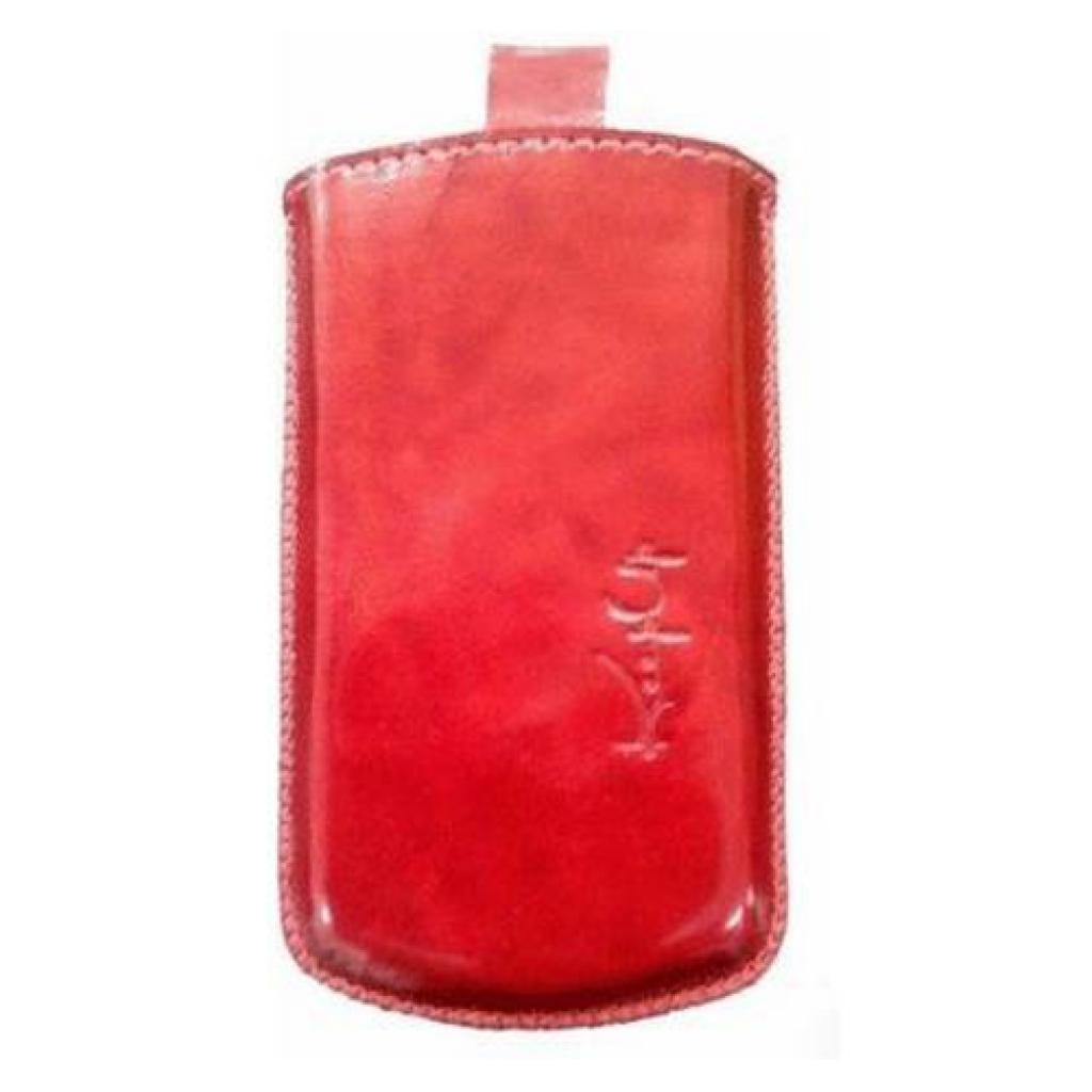 Чехол для моб. телефона KeepUp для Samsung S6102 Galaxy Y red/pouch (00-00000952)
