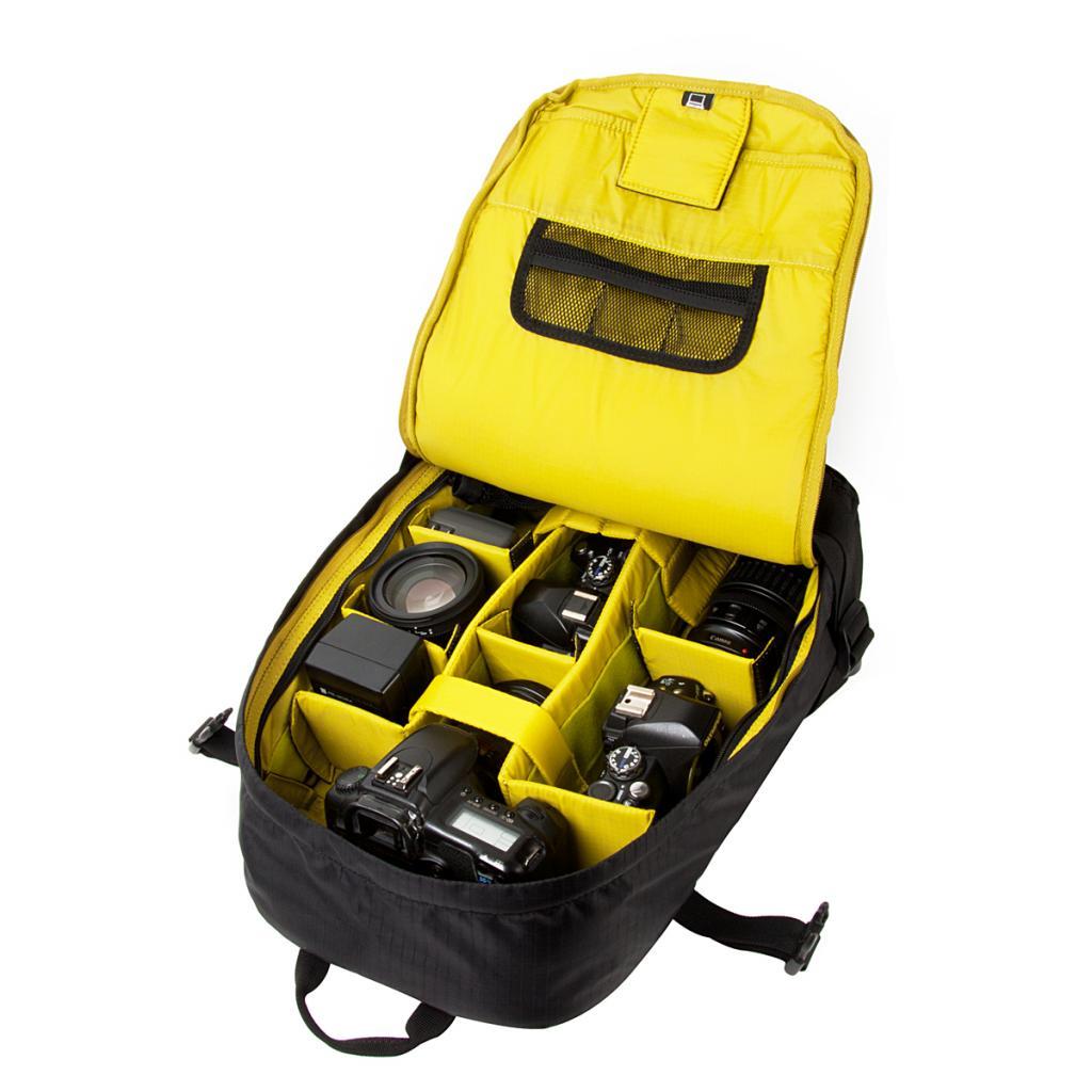 """Рюкзак для фототехники Crumpler Light Delight Full Photo +15""""NB Backpack (dull black) (LDFPBP-001) изображение 2"""