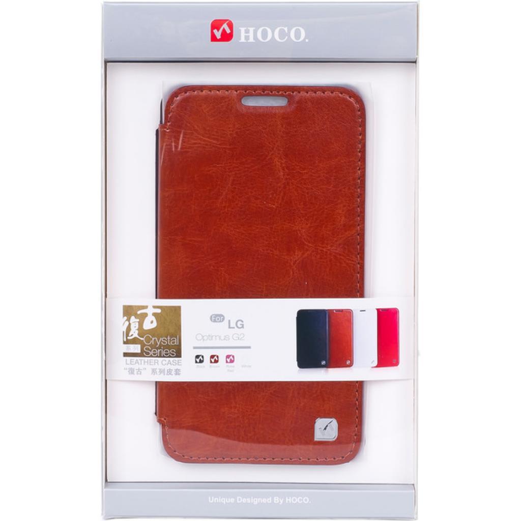 Чехол для моб. телефона HOCO для LG D802 Optimus G2 /Crystal (HL-L001 Brown)