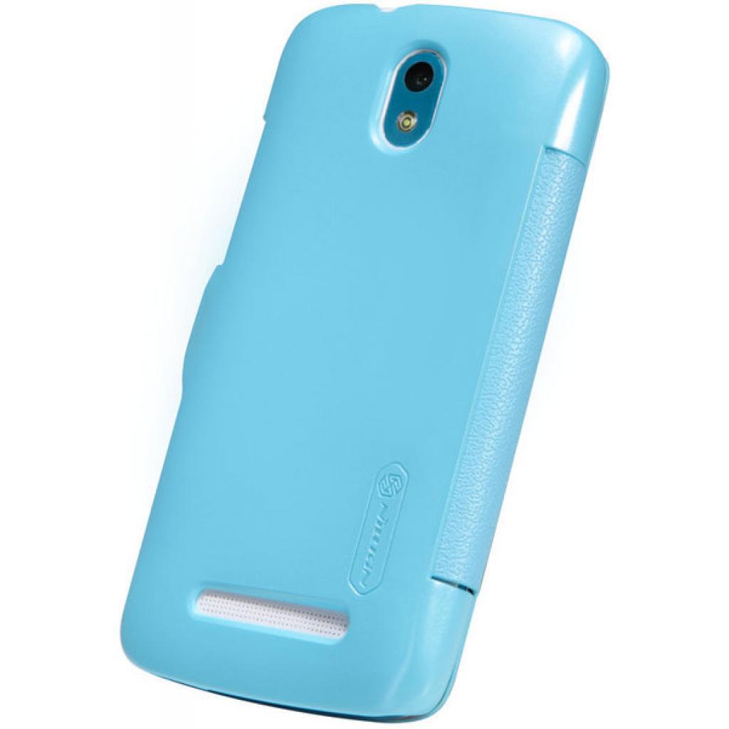 Чехол для моб. телефона NILLKIN для HTC Desire 500 /Fresh/ Leather/Blue (6088694) изображение 2