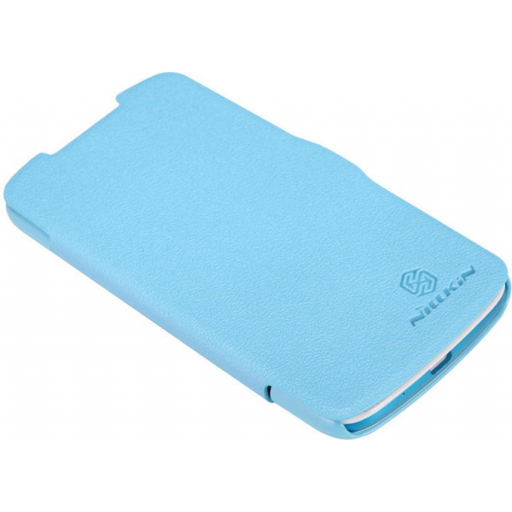 Чехол для моб. телефона NILLKIN для HTC Desire 500 /Fresh/ Leather/Blue (6088694) изображение 3