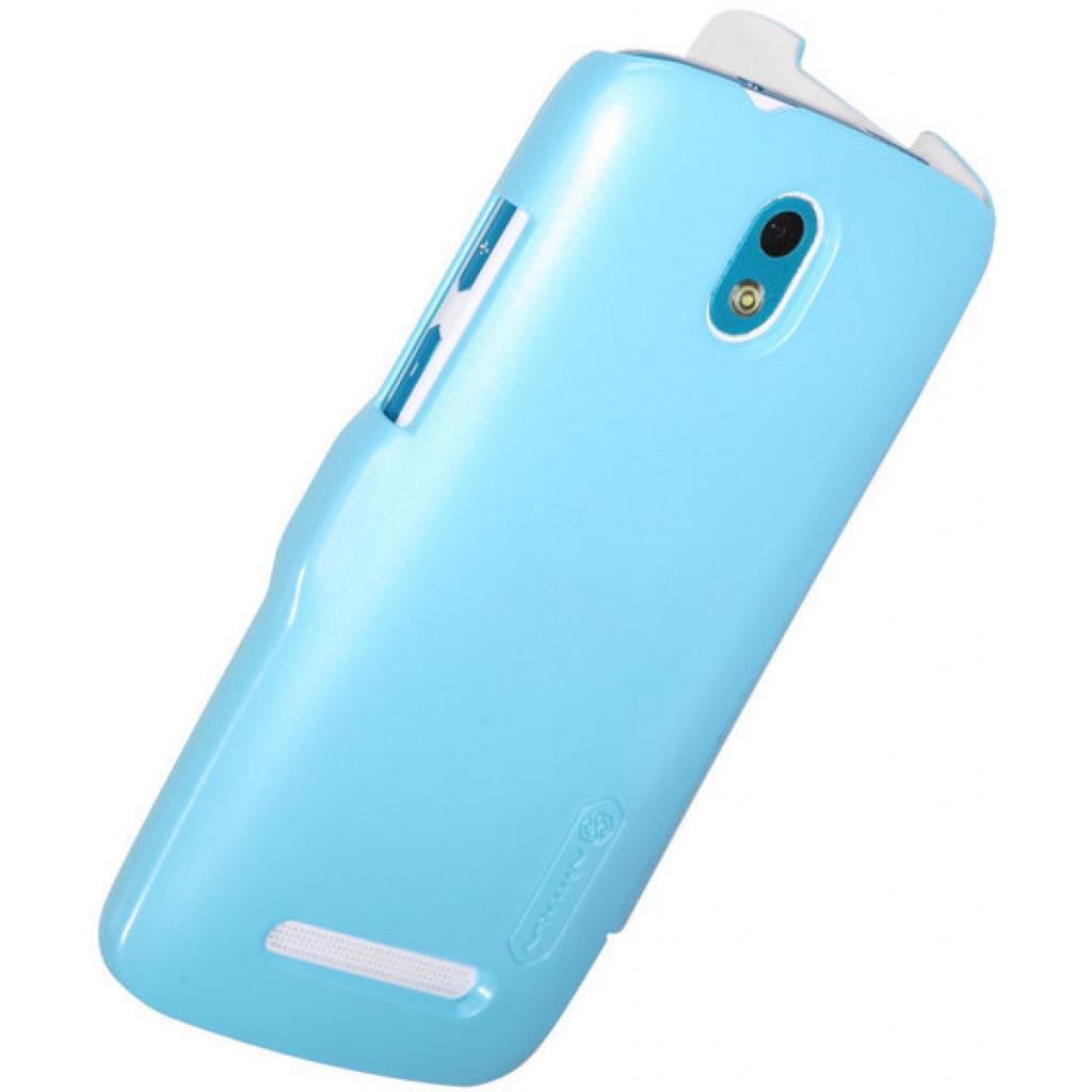 Чехол для моб. телефона NILLKIN для HTC Desire 500 /Fresh/ Leather/Blue (6088694) изображение 4