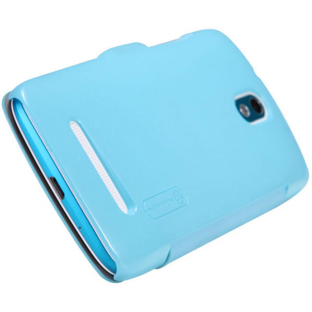 Чехол для моб. телефона NILLKIN для HTC Desire 500 /Fresh/ Leather/Blue (6088694) изображение 5