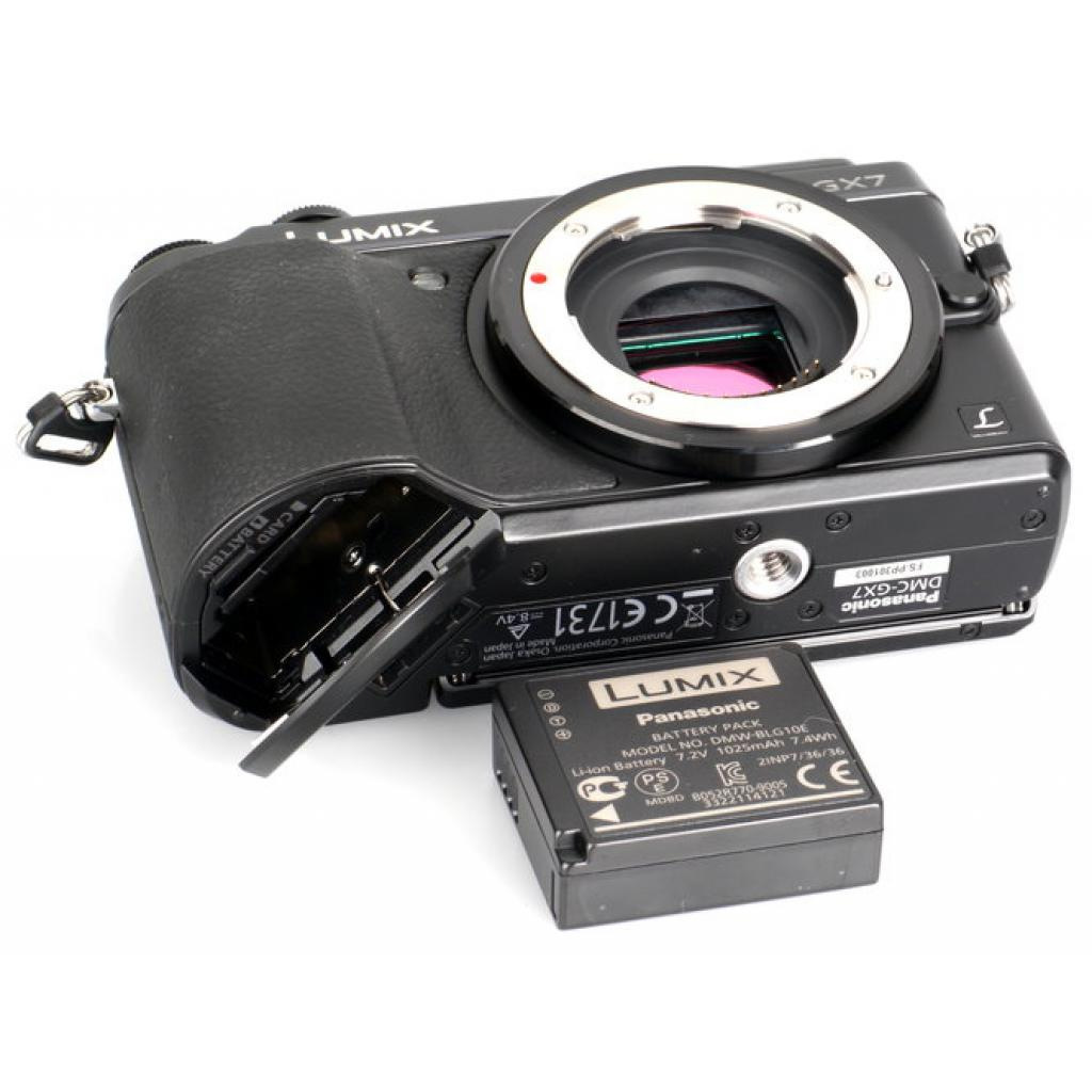 Цифровой фотоаппарат PANASONIC DMC-GX7 Body (DMC-GX7EE-K) изображение 7