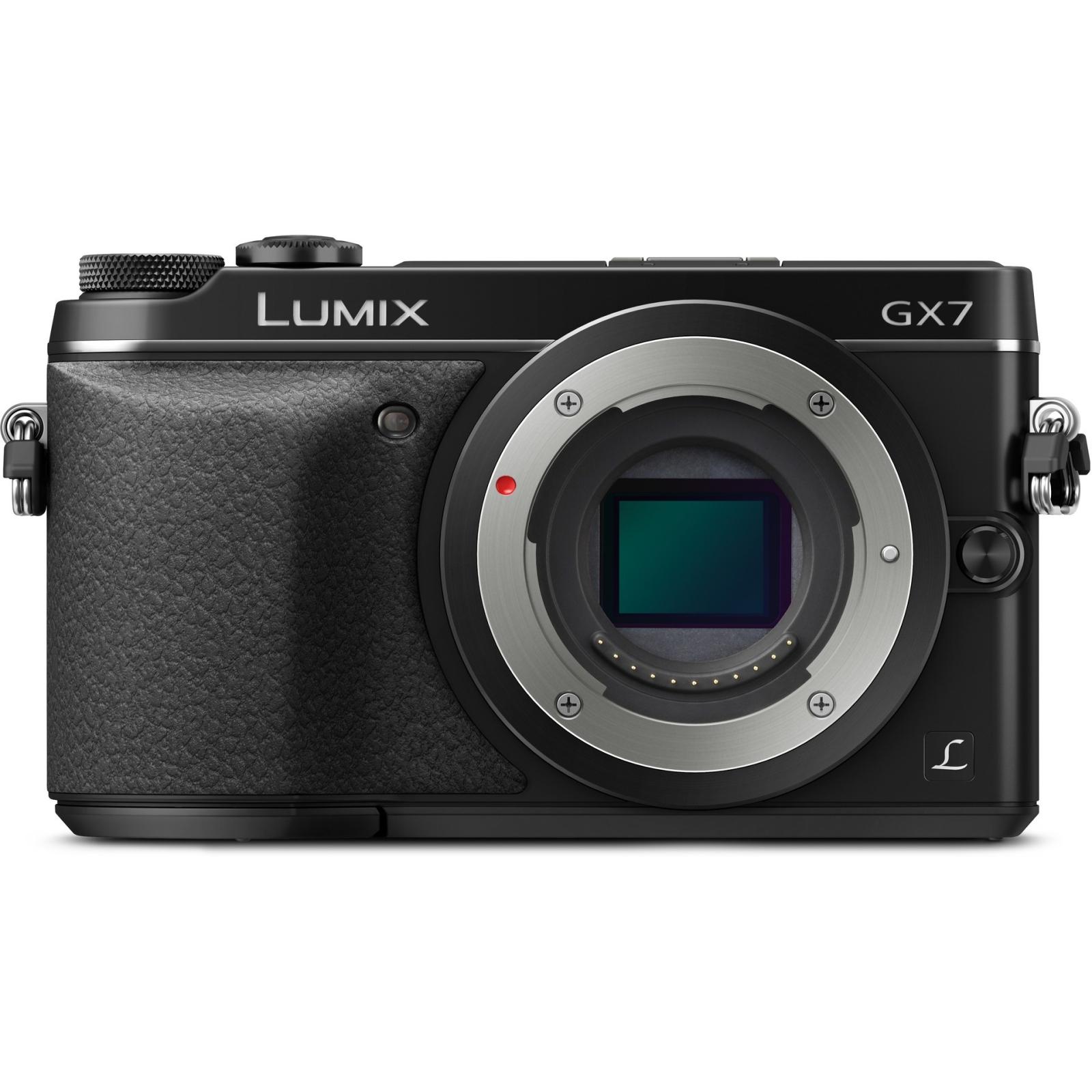 Цифровой фотоаппарат PANASONIC DMC-GX7 Body (DMC-GX7EE-K)