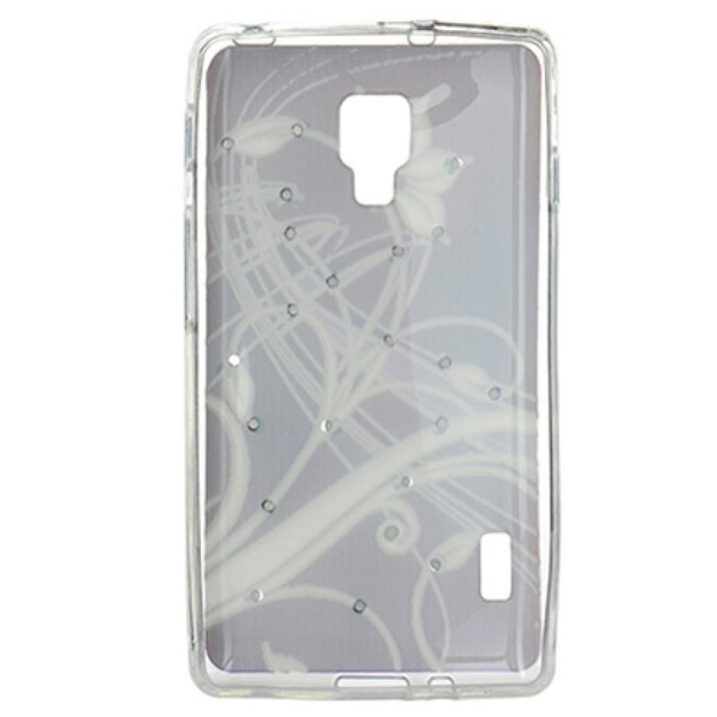 Чехол для моб. телефона для LG Optimus P713 (Brown) Cristall PU Drobak (211588) изображение 2